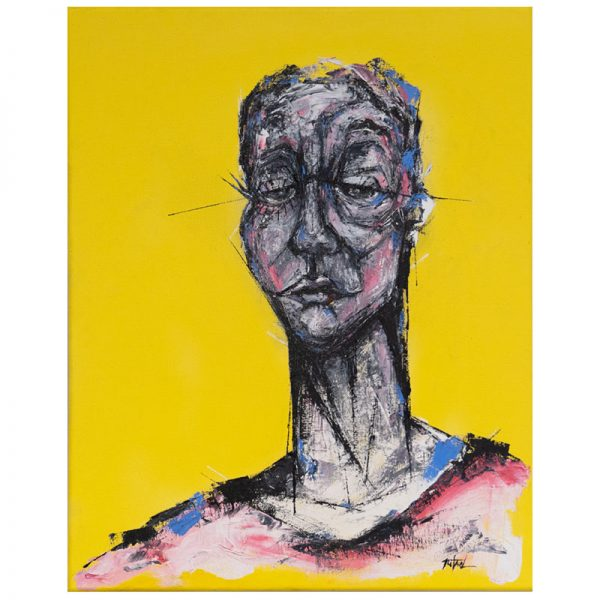 The Yellow Lady by Bruno Marcolino